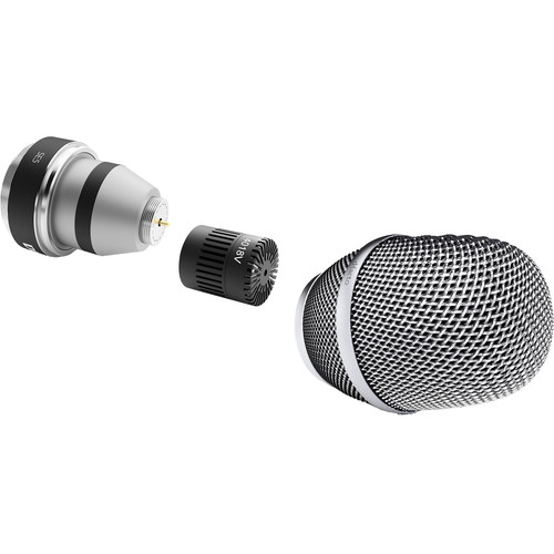 DPA Microphones d:facto 4018V Softboost Supercardioid Microphone with SE5 Wireless Adapter (Nickel)