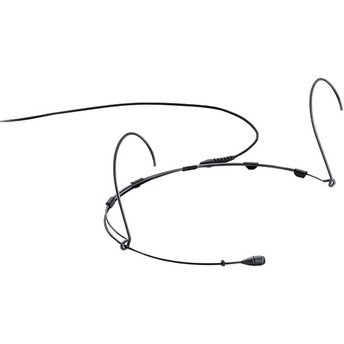 DPA Microphones d:fine 4066 Omnidirectional Headset Microphone with a Hardwired 3-Pin LEMO Connector for Sennheiser Wireless Systems (Black)
