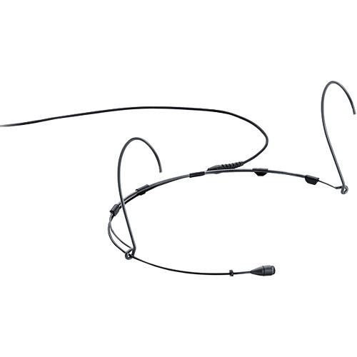 DPA Microphones d:fine 4066 Omnidirectional Headset Microphone, Std-Sens with Microdot and 3-Pin XLR Adapter (Black)