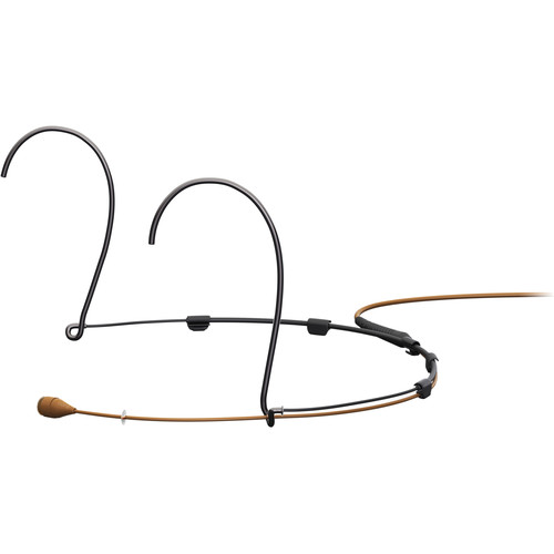 DPA Microphones d:fine Core 4066 Omnidirectional Headset Microphone with MicroDot Connector (Medium, Brown)