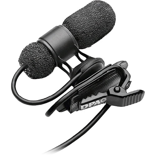 DPA Microphones 4080 Miniature Cardioid Lavalier Microphone and MicroDot with XLR Adapter