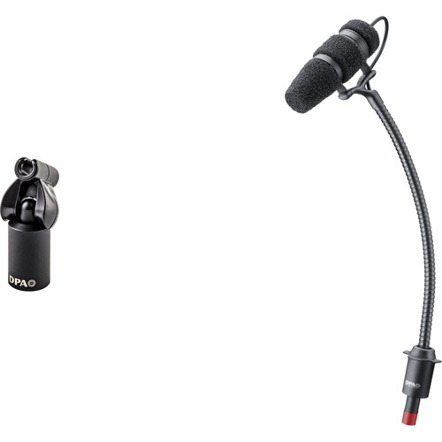 DPA Microphones d:vote Core 4099 Instrument Microphone, Loud SPL, with Stand Mount
