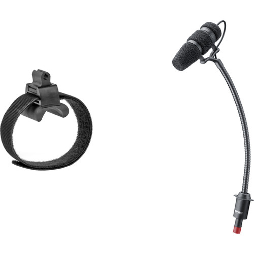 DPA Microphones d:vote Core 4099 Instrument Microphone, Loud SPL, with Universal Mount