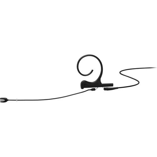 DPA Microphones d:fine Core 4166 Slim Omni Flex Earset Mic, 90mm Boom with MicroDot (Black)
