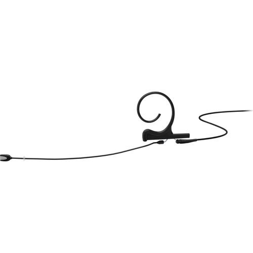 "DPA Microphones d:fine Core 4166 Slim Omni Flex Earset Mic, 110mm Boom with 1/8"" Mini Jack (Black)"