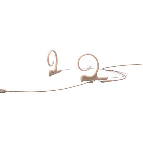 DPA Microphones d:fine Core 4166 Slim Omni Flex Headset Mic, 110mm Boom (Beige, Microdot)