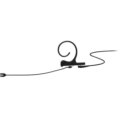 DPA Microphones d:fine Core 4188 Slim Directional Flex Earset Mic, 100mm Boom with MicroDot (Black)