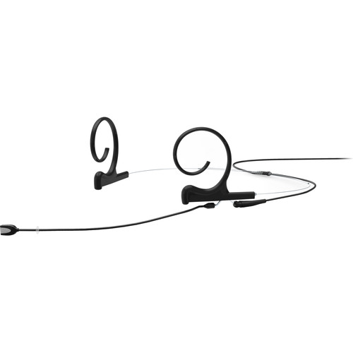 DPA Microphones d:fine Core 4188 Slim Directional Flex Headset Mic, 100mm Boom with MicroDot (Black)