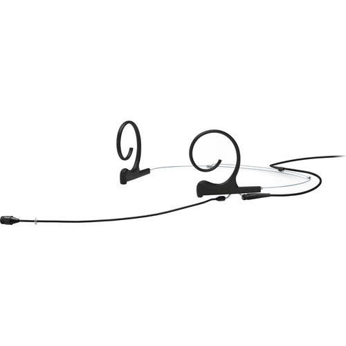 DPA Microphones d:fine Core 4266 Slim Omnidirectional Flex Headset Mic, 110mm Boom with MicroDot (Black)