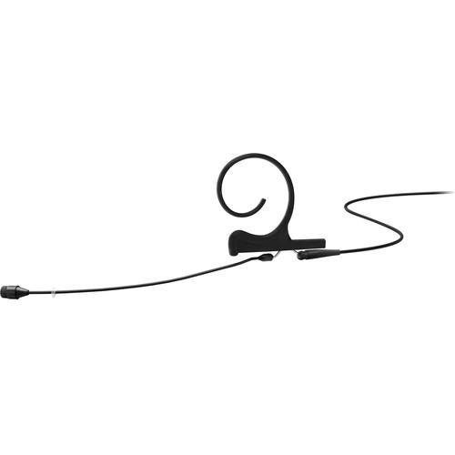 DPA Microphones d:fine Core 4266 Slim Omnidirectional Flex Earset Mic, 90mm Boom with MicroDot (Black)
