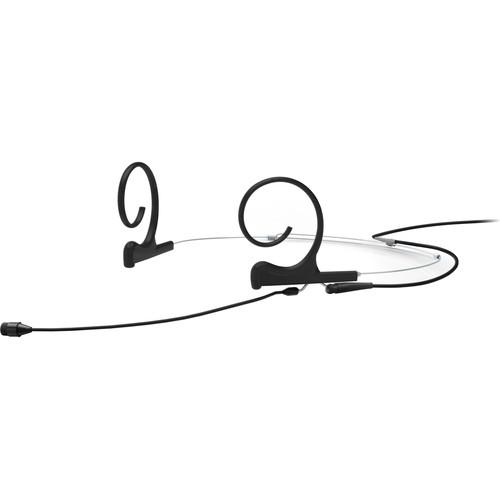 DPA Microphones d:fine Core 4266 Slim Omnidirectional Flex Headset Mic, 90mm Boom with MicroDot (Black)