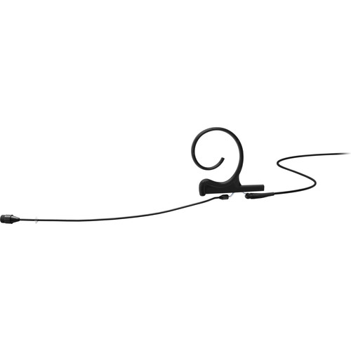 DPA Microphones d:fine Core 4266 Slim Omnidirectional Flex Earset Mic, 110mm Boom with 3-Pin LEMO (Black)
