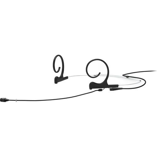 DPA Microphones d:fine Core 4266 Slim Omnidirectional Flex Headset Mic, 110mm Boom with 3-Pin LEMO (Black)