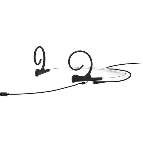 DPA Microphones d:fine Core 4266 Slim Omnidirectional Flex Headset Mic, 90mm Boom with TA4F (Black)