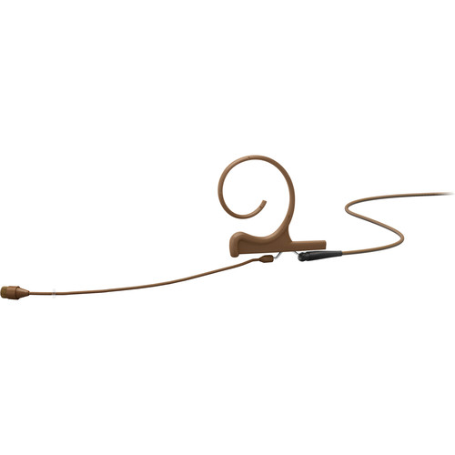 DPA Microphones d:fine Core 4266 Slim Omnidirectional Flex Earset Mic, 90mm Boom with MicroDot (Brown)