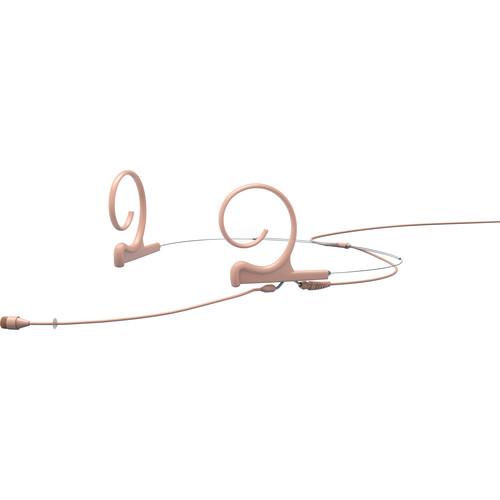 DPA Microphones d:fine Core 4266 Slim Omnidirectional Flex Headset Mic, 110mm Boom with 3-Pin LEMO (Beige)
