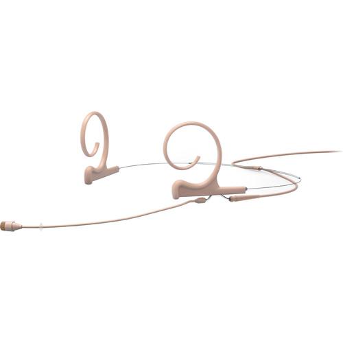 DPA Microphones d:fine Core 4266 Slim Omnidirectional Flex Headset Mic, 90mm Boom with TA4F (Beige)