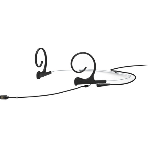 DPA Microphones d:fine Core 4288 Directional Flex Headset Mic, 100mm Boom with MicroDot (Black)