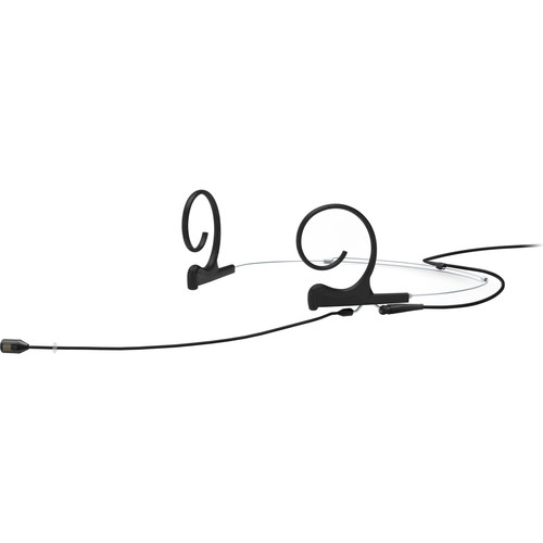 DPA Microphones d:fine Core 4288 Directional Flex Headset Mic, 120mm Boom with 3-Pin LEMO (Black)