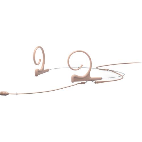 DPA Microphones d:fine Core 4288 Directional Flex Headset Mic, 100mm Boom (Beige, TA4F Mini XLR)