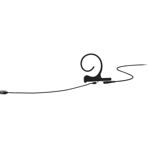DPA Microphones d:fine Flex Directional One-Ear Earset Mic with 120mm Boom and 3.5mm Connector for Sennheiser Wireless Transmitters (Black)