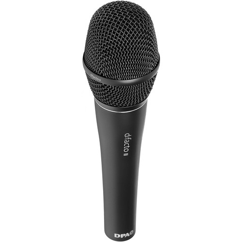 DPA Microphones d:facto II Interview Microphone with DPA Handle (Matte Black)