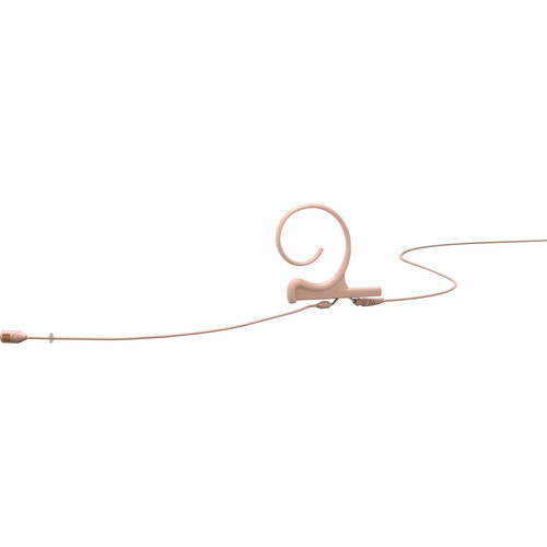 DPA Microphones d:fine Flex Directional One-Ear Earset Mic with 120mm Boom and MicroDot Connector (Beige)
