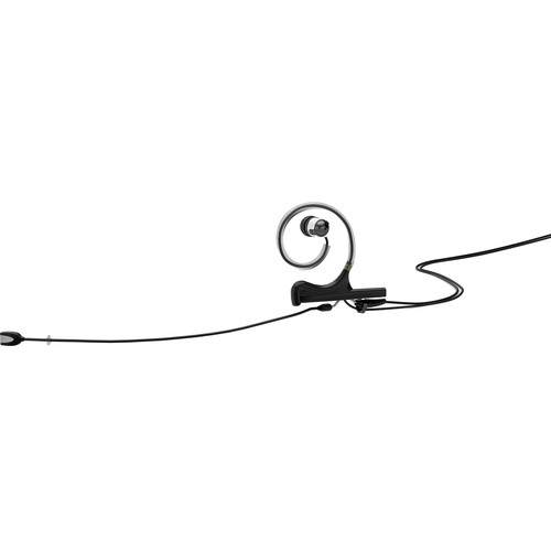 DPA Microphones d:fine In-Ear Broadcast Headset Mic with 1-Ear Mount, 1-In-Ear, and Hardwired with TA5F Connector (Black)