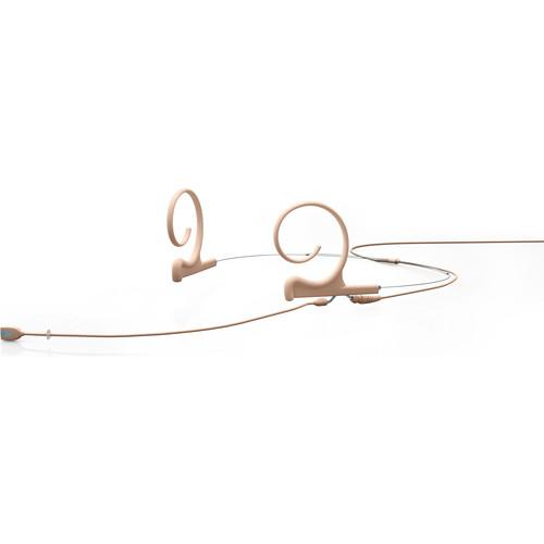 DPA Microphones FIDF00-2 d:fine Dual Ear Directional Headset Microphone (Long Boom, Beige, Microdot Termination)