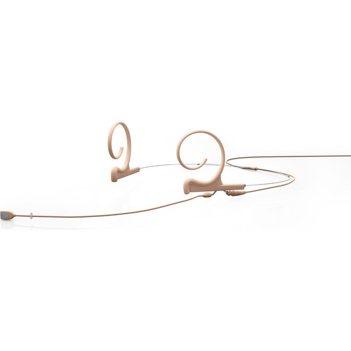 DPA Microphones FIDF00-2 d:fine Dual Ear Directional Headset Microphone (Long Boom, Beige, Microdot Termination)