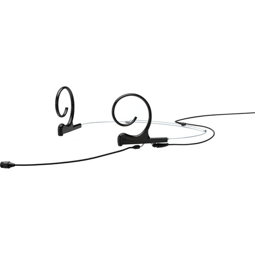 DPA Microphones d:fine 66 Dual-Ear Omni Headset Mic with Hardwired MicroDot Connector (Black)