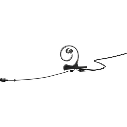 DPA Microphones d:fine 66 1-Ear Omnidirectional Headset Microphone and 110mm Boom with LEMO Hardwired Connector for Sennheiser Wireless Transmitters (Black)