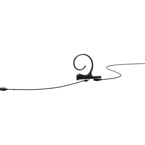 DPA Microphones d:fine 66 1-Ear Omnidirectional Headset Microphone and 110mm Boom with Hirose Adapter Connector for Audio Technica Wireless Transmitters (Black)