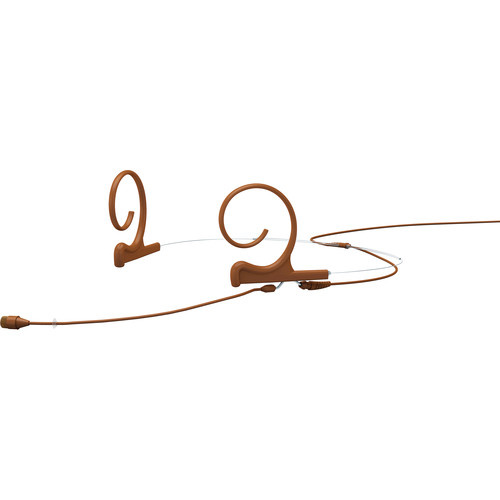 DPA Microphones d:fine 66 Dual-Ear Omni Headset Mic with Hardwired TA5F Connector (Brown)