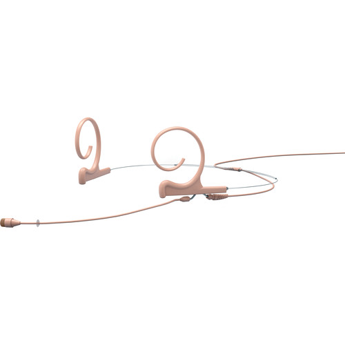 DPA Microphones d:fine 66 Dual-Ear Omni Headset Mic with Hardwired 3.5 mm Mini-Jack Connector (Beige)