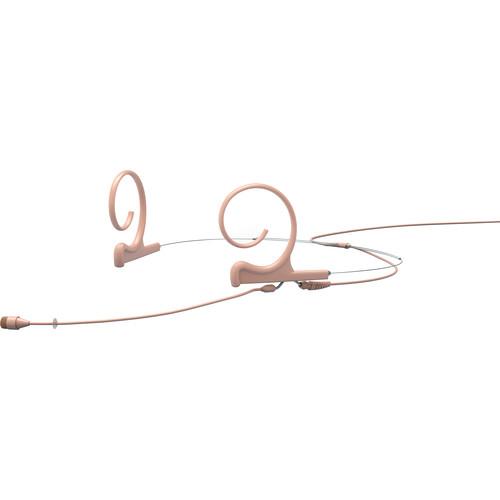 "DPA Microphones d:fine 4266 Omnidirectional Flex Headset Mic, 90mm Boom with 1/8"" Mini Jack (Beige)"