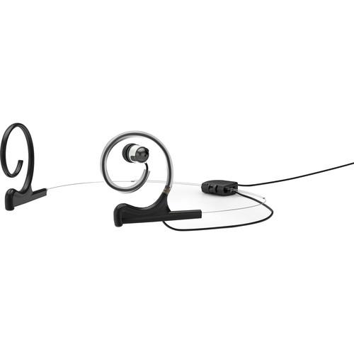 DPA Microphones d:fine In-Ear Broadcast Headset Mount, Dual-Ear, Single In-Ear (Black)