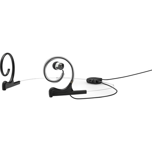 DPA Microphones d:fine In-Ear Broadcast Headset Mount, Dual-Ear, Single In-Ear (Black)