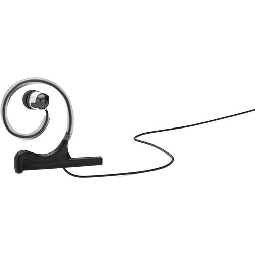 DPA Microphones d:fine In-Ear Broadcast Headset Mount, Single-Ear, Single In-Ear (Black)