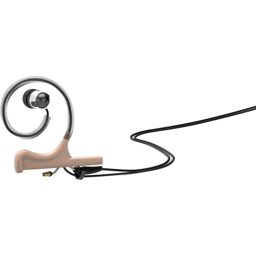 DPA Microphones d:fine In-Ear Broadcast Headset Mount, Single-Ear, Single In-Ear with Hardwired LEMO Connector (Beige)