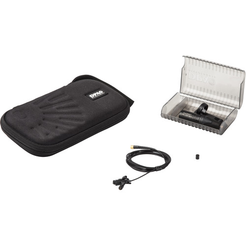 DPA Microphones d:screet Core 4060 Omnidirectional Lavalier Microphone Kit (Normal SPL, Black)
