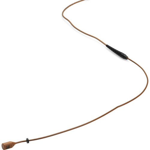 DPA Microphones MMB4088 Miniature Microphone Boom with a Hardwired 3-Pin LEMO Connector for Sennheiser Wireless Systems (Brown)