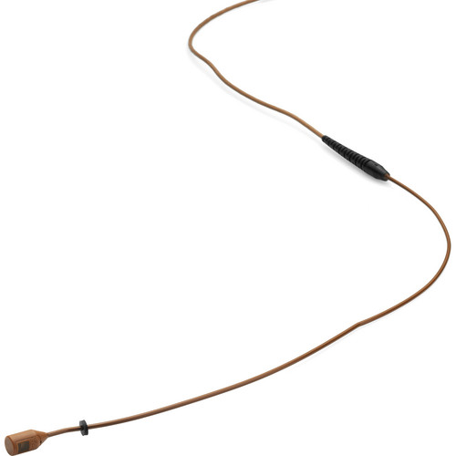 DPA Microphones MMB4088 Miniature Microphone Boom with a Hardwired TA4F Connector for Shure Wireless Systems (Brown)