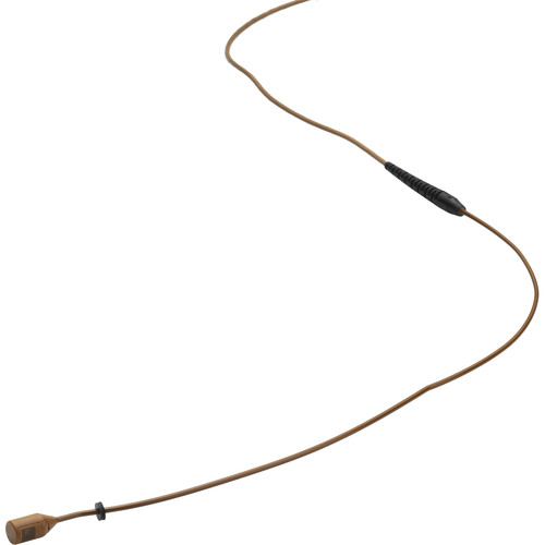 DPA Microphones d:fine Core 4088 Directional Miniature Mic Boom with 3-Pin LEMO Connector (Brown)