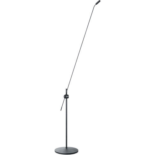 "DPA Microphones d:screet SC4098 Supercardioid Microphone with XLR, 30"" Boom Floor Stand"