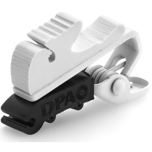 DPA Microphones SCM0004 Miniature Microphone Clip, Small (White)