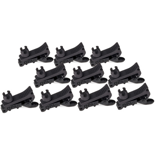 DPA Microphones 4-Way Clip for d:screet Microphones (10-Pack, Black)