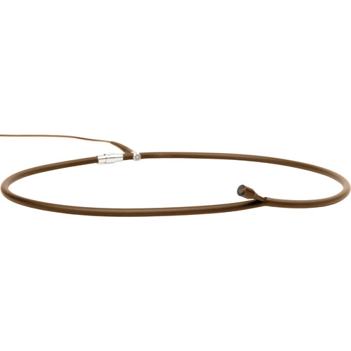 DPA Microphones d:Screet Necklace Microphone 53cm Length and MicroDot Connector (Brown)