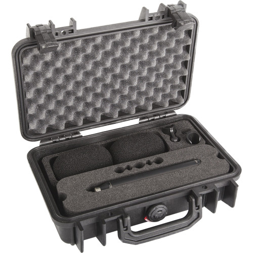 DPA Microphones d:dicate 4007A Stereo Pair with Clips and Windscreens in Peli Case Kit