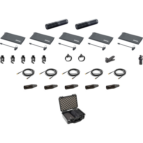 DPA Microphones d:vote Clip Microphone Kit 2 for Drums